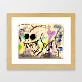 angler Framed Art Print
