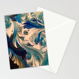 Ocean Swirl Stationery Cards