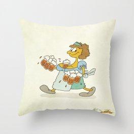 Beeeeeer!!! Throw Pillow