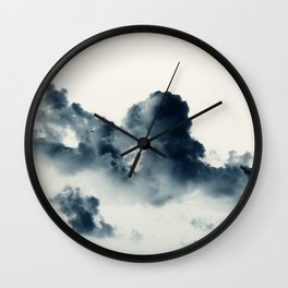 Storm Clouds #1 Wall Clock