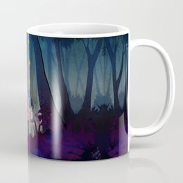 meeting in the woods  Coffee Mug