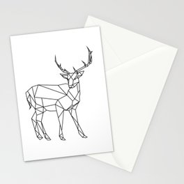 3D Buck Minimal Stationery Cards