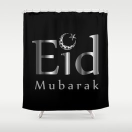 Eid mubarak Shower Curtain