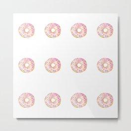 'donut worry' Metal Print
