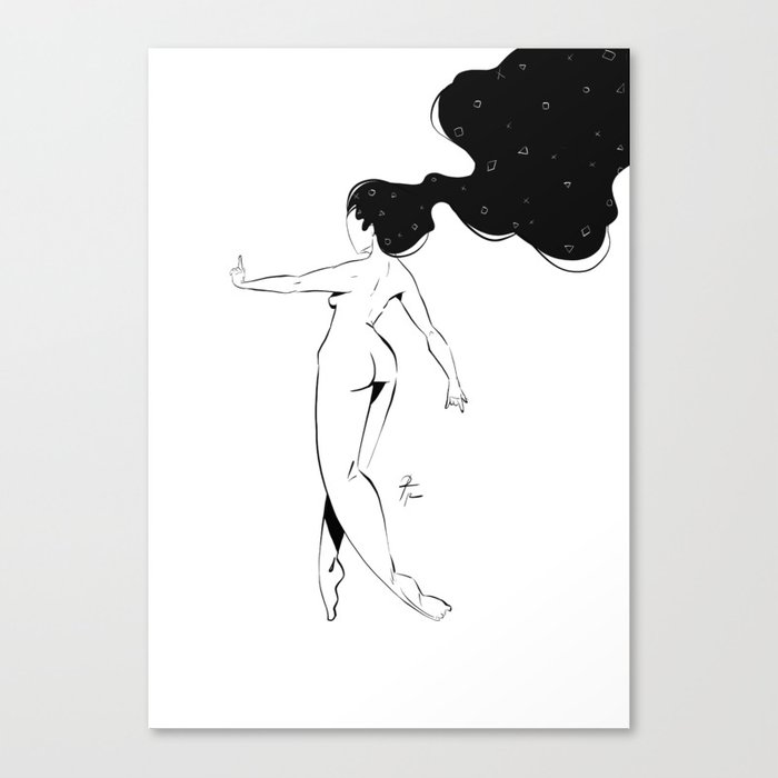 WOMAN 64 Canvas Print