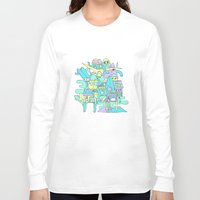 aloha Long Sleeve T-shirts featuring Aloha by poney-m studio