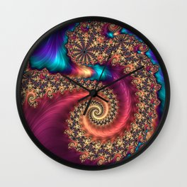 The Infinite Rainbow Wall Clock