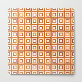 Abstract background - geometric seamless pattern Metal Print