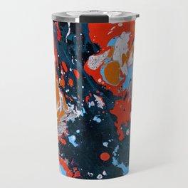 Abstract artistic painting Travel Mug