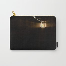 Old lady light at the end of the tunnel Carry-All Pouch