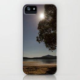 Marlborough Sounds at Night iPhone Case