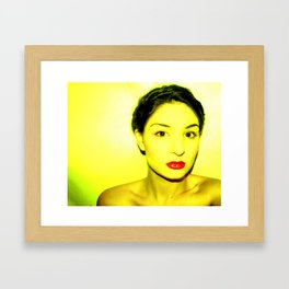 I Am A Light Framed Art Print