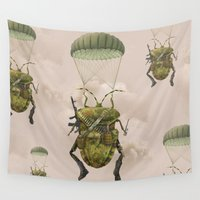 military Wall Tapestries featuring Military by Tanya_tk
