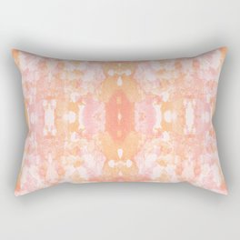 Sycamore kaleidoscope - Sherbert blush Rectangular Pillow