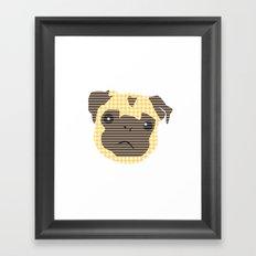 Pug! Framed Art Print