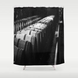 Adega da vinícola Concha y Toro Shower Curtain