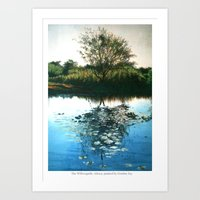 Willowgarth, Arksey, Yorkshire, England Art Print