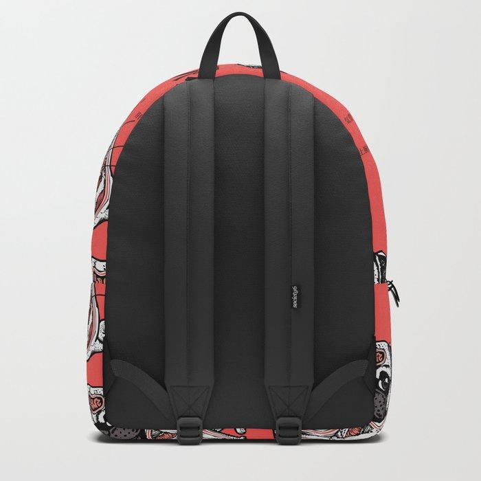 Pug Anatomy Backpack
