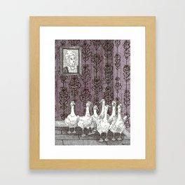 The Goose Room Framed Art Print
