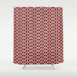 """""""Komochiyoshiwara"""" Japanese traditional pattern Shower Curtain"""