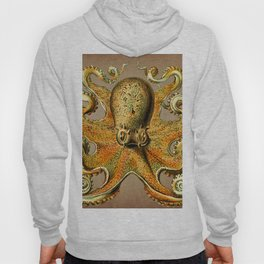 Vintage Golden Octopus Hoody