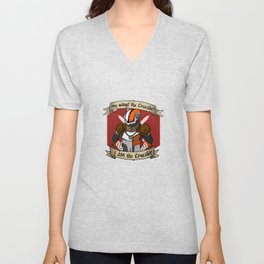 Lord Shaxx is the Crucible Unisex V-Neck