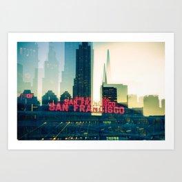 SF. Art Print