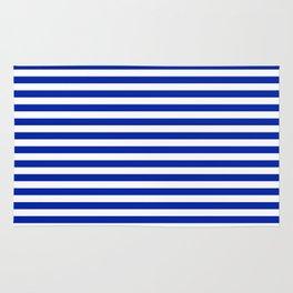Florida fan gators university orange and blue team spirit football college sports stripes Rug