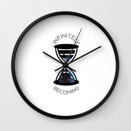 Infinitely Becoming (DNA ∞) Wall Clock