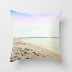 Sand, Sea and Sky - Relaxing Summertime Throw Pillow