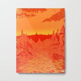 Futurescape 1 Metal Print