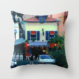 Chez Blanco Throw Pillow