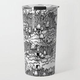 Little mushrooms Travel Mug