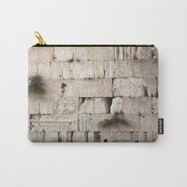 Jerusalem - The Western Wall - Kotel #4 Carry-All Pouch