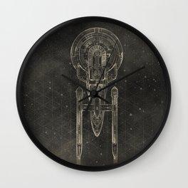 NCC-1701 Wall Clock