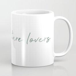 Raising nature lovers - agave green Coffee Mug