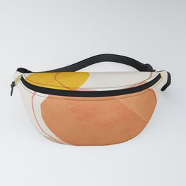 Abstraction_Balance_Minimalism_Lines_01 Fanny Pack