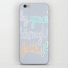 By Grace Through Faith iPhone & iPod Skin