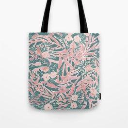 Tropical Daydream Blush Green Tote Bag