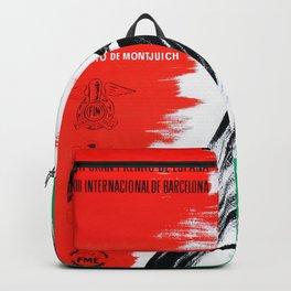 1962 BARCELONA GRAN PREMIO ESPANA Backpack