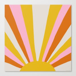 sunshine state of mind Canvas Print