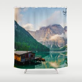 The Place To Be III Shower Curtain