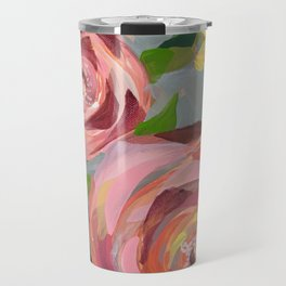 Platinum Rose Travel Mug