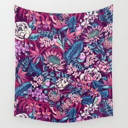 Stand Out! (ultraviolet) Wall Tapestry