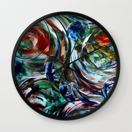 SoapBubbles  Wall Clock