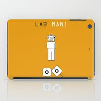 lab iPad Cases featuring Lab Man by Artricca