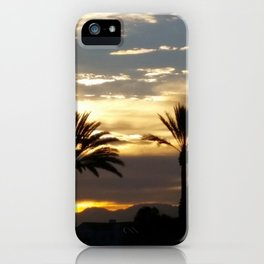 Golden Norco Sunset iPhone Case