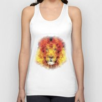 lion king Tank Tops featuring lion king by Ancello