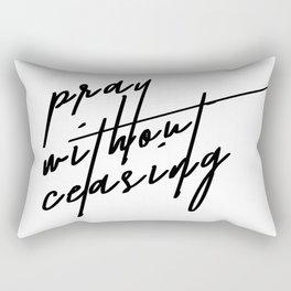 1 thessalonians Rectangular Pillow