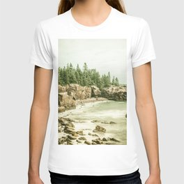 Acadia National Park Maine Rocky Beach T-shirt